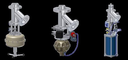VAN HÌNH NÓN -RITAG - RITAG Type BA and BAS bottom valves − cone model